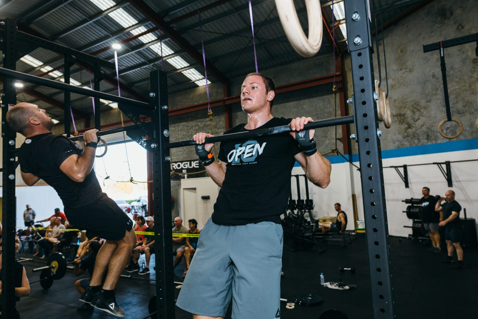 Master the Kipping Pull Up